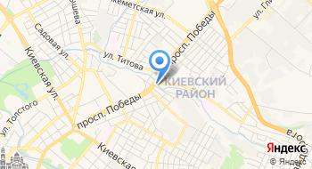 Симферополь, ресторан Старый клен на карте