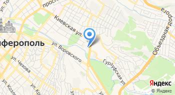 Центральный автовокзал Симферополь на карте