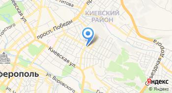 Крымводстрой на карте