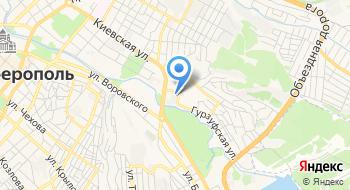 ГУП РК Вода Крыма, филиал на карте