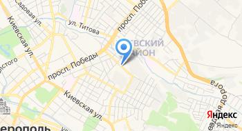 Симферопольский професиональный строительный техникум ГБПОУ на карте