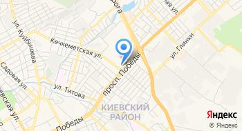 Территориальное отделение ГКУ Республики Крым Центр занятости населения в Симферопольском районе на карте