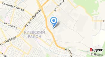 Симферопольский Камнеобрабатывающий завод на карте