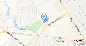 Ку Сумского областного совета Сумской областной кардиологический диспансер на карте