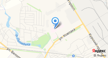 Областная детская клиническая больница на карте