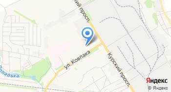 Пейнтбольный клуб Сварог на карте