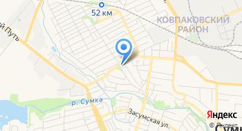 Коммунальное учреждение Городской межшкольный учебно-производственный комбинат Сумского городского совета на карте