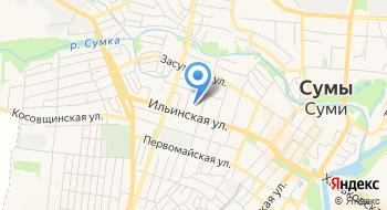 Областной наркологический диспансер Сумского областного совета на карте