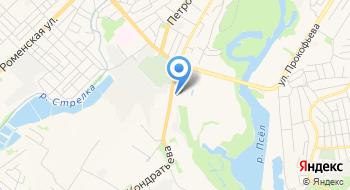 Сумской городской военный комиссариат на карте