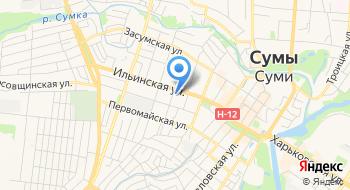 Главное управление Государственная фискальная служба в Сумской области на карте