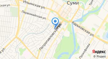 Сумской Областной Противотуберкулезный Диспансер на карте