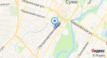 Сумская Областная Коллегия Адвокатов на карте