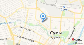 Сумская областная организация Общество Красного креста Украины на карте