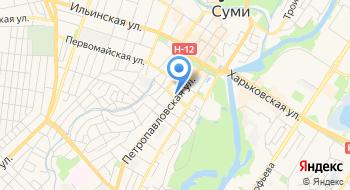 Интер транс на карте