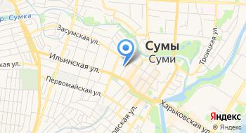 Департамент гражданской защиты населения Сумской области на карте