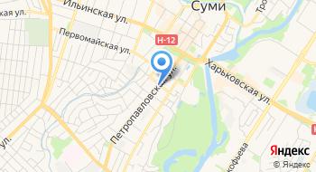 Сумская фабрика столярных изделий на карте