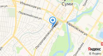 Частный нотариус Мокренко Л.Ю. на карте