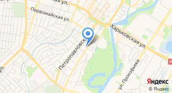 Сумской областной военный комиссариат на карте