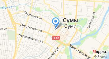 Ку Сумского городского совета-Сумская детская музыкальная школа № 3 на карте