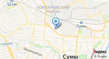 Украинская пожарно-страховая компания на карте