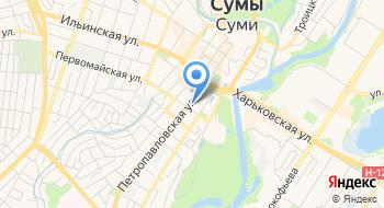 Украинская академия банковского дела Национального банка Украины на карте