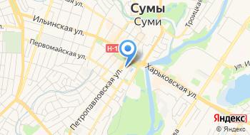 Сумская Областная Детская библиотека им. Н.А. Островского на карте