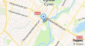 Сумской областной академический театр драмы и музыкальной комедии имени М. С. Щепкина на карте