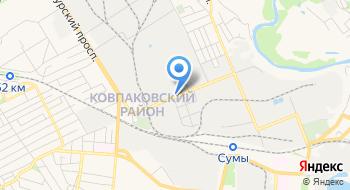 Украинский папир на карте