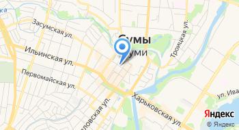 Сумский отдел Комплексного проектирования Укргипродор на карте
