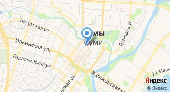 Сумская городская централизованная библиотечная система им. Т.Г. Шевченко на карте