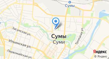 Управление гоструда по Сумской области на карте