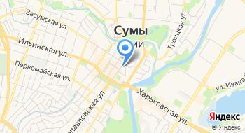 Спасо-Преображенский кафедральный собор Украинской православной церкви г. Сумы на карте