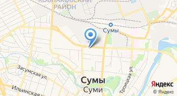 Памятники Сумы на карте