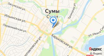 Сумская областная ОО Центр социально-гумманитарного развития Родной край на карте