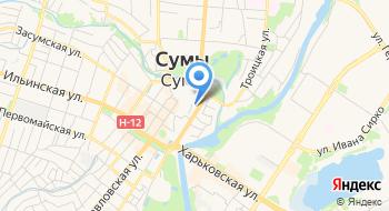 КУ Сумского городского совета Сумская детская музыкальная школа №4 на карте