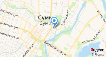 Сумской областной центр в гидрометеорологии на карте