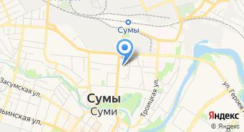 Главное управление Статистики Сумской области на карте
