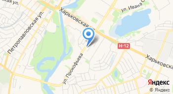 Сумыоблэнерго на карте