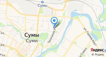 Сумской колледж экономики и торговли на карте
