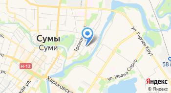 Баня На Псельской на карте