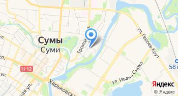 Сумы Промтехснаб на карте