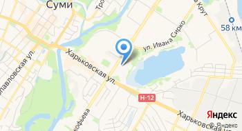 Сумская городская организация профсоюза Работников образования и науки Украины на карте