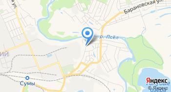 КУ СОС Мемориальный дом-музей А.П. Чехова в г. Сумы на карте