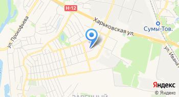 Сумское областное патологоанатомическое бюро на карте