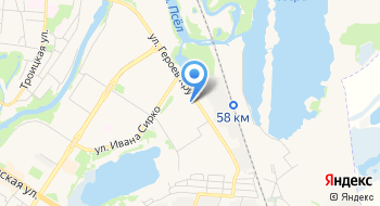 Венбест на карте