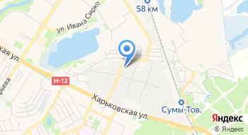 Оптовая база Сумы-Стройинвест на карте