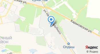 Завод Стройиндустрия на карте