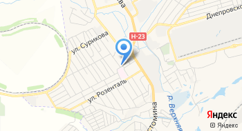 Ку Запорожская Центральная районная больница Хирургический корпус на карте