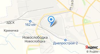 Запорожский завод цветных сплавов на карте