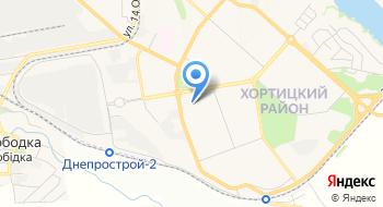 Управление государственной казначейской службы Украины в Хортицком районе г. Запорожье Запорожской области на карте